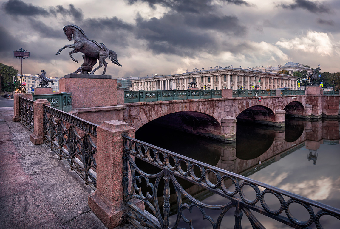 Мосты города Санкт-Петербург, Меблированные комнаты Вернисаж - метро Гражданский Проспект на севере Санкт-Петербурга
