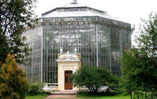 Ботанический сад Санкт-Петербурга, Меблированные комнаты Вернисаж - метро Гражданский Проспект на севере Санкт-Петербурга