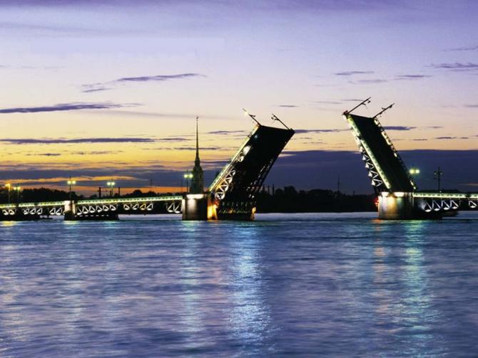 разводные мосты фото