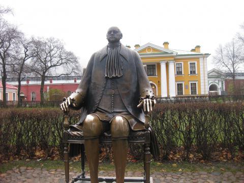 Памятник Петру в СПб