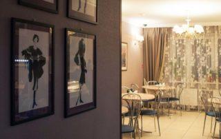 Меню отеля, Меблированные комнаты Вернисаж - метро Гражданский Проспект на севере Санкт-Петербурга