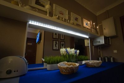 Фотогалерея кафе, Меблированные комнаты Вернисаж - метро Гражданский Проспект на севере Санкт-Петербурга